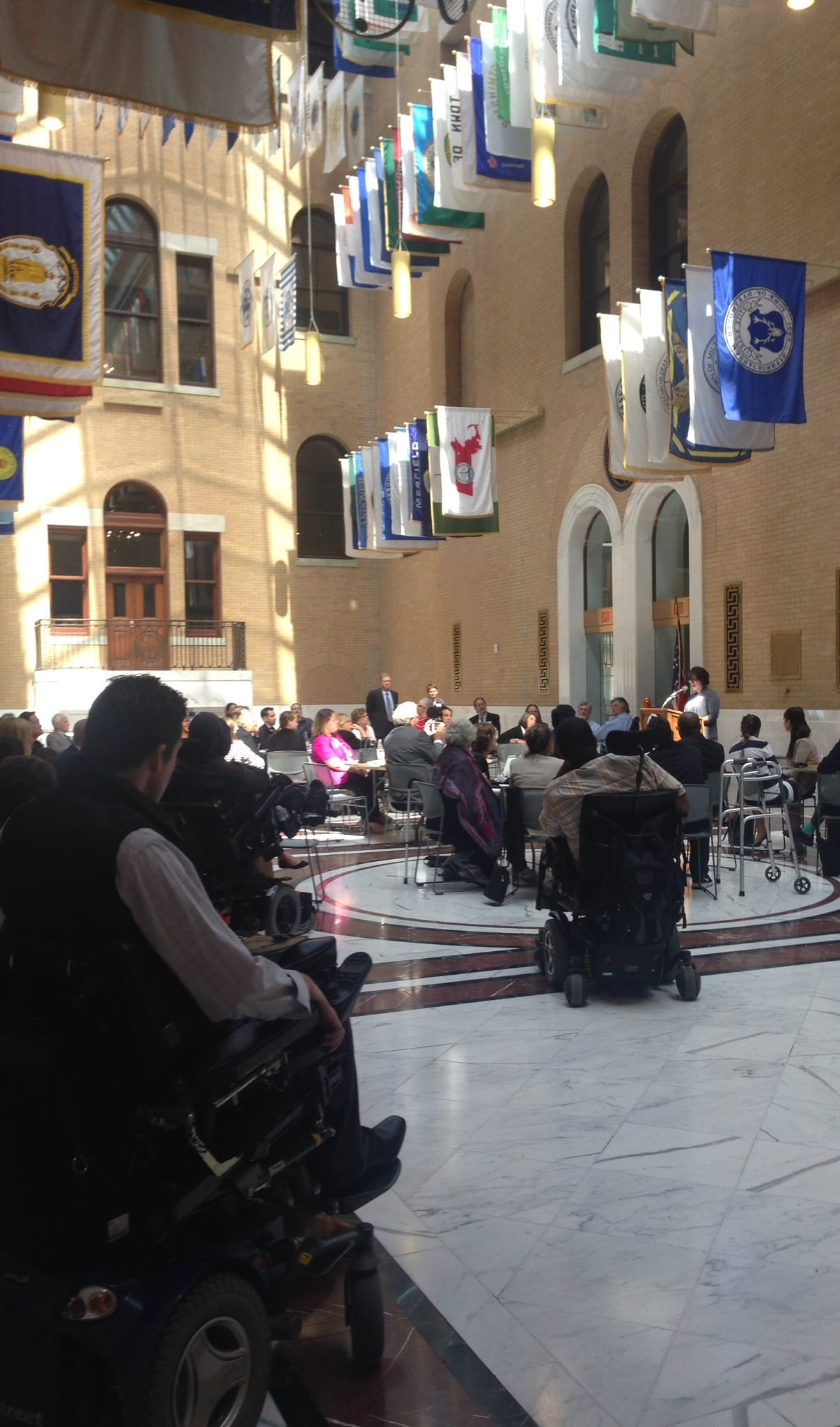 Chapter Members at State House