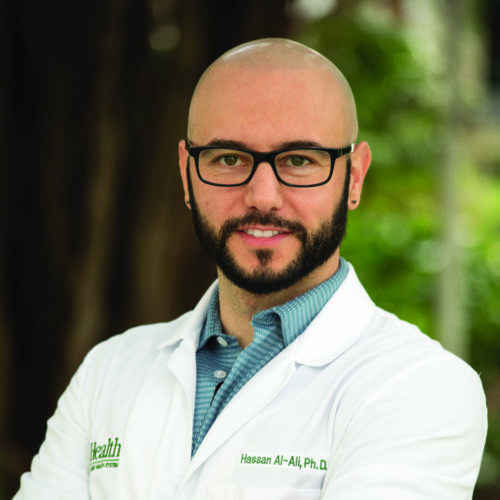 Hassan Al-Ali, Ph.D.'s paper shows that he is on the edge of discovery