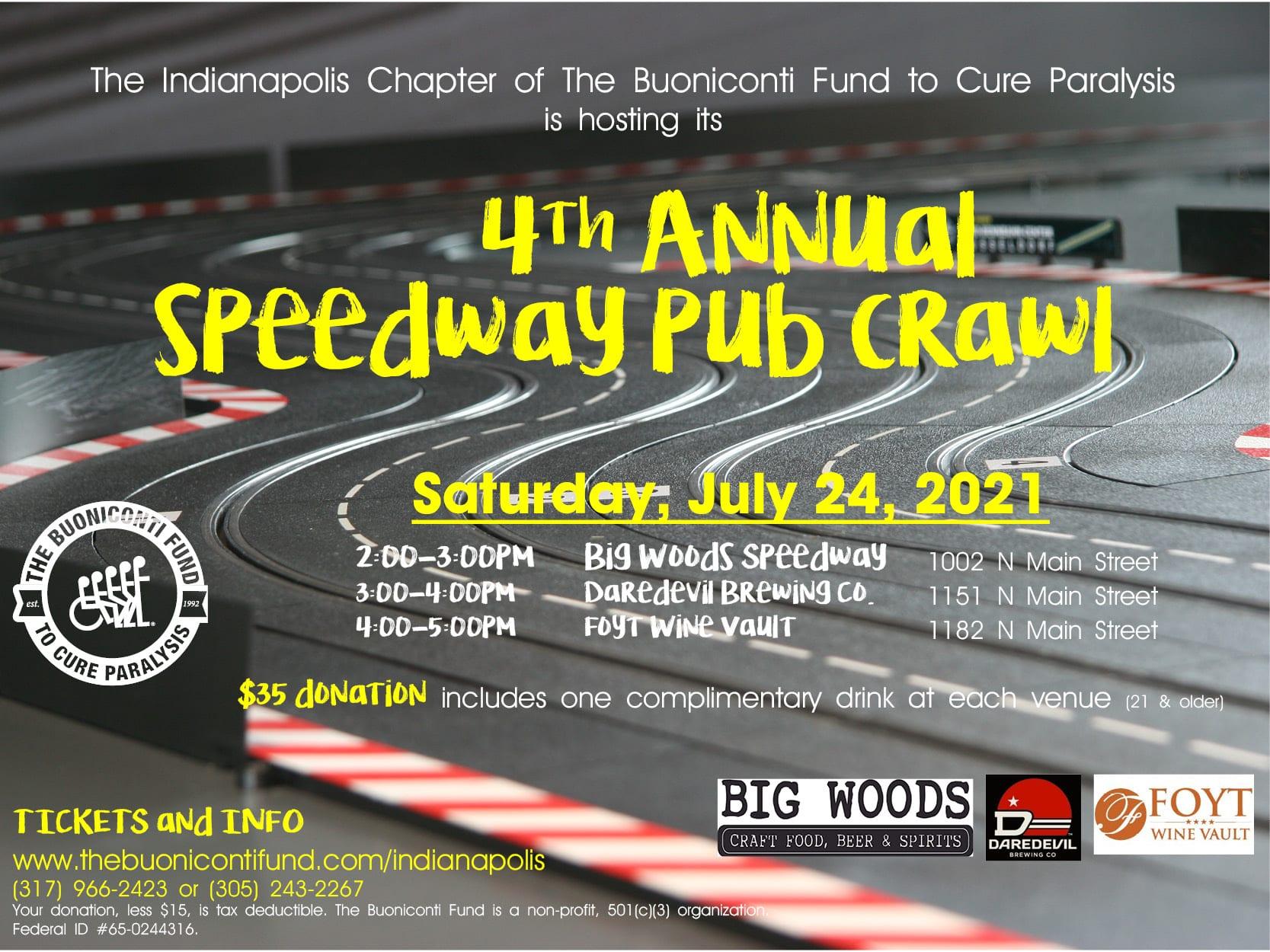 4th Annual Speedway Pub Crawl