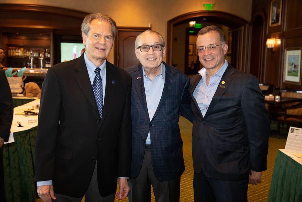 Drs. W. Dalton Dietrich, Barth Green and Allan Levi