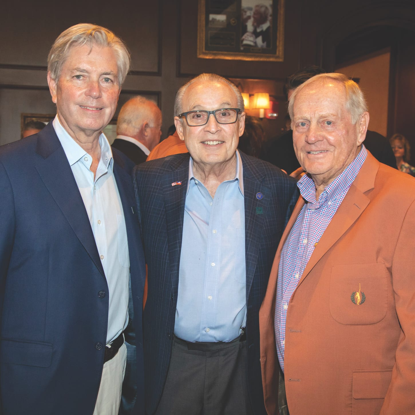Mark Dalton, Barth A. Green, M.D. and Jack Nicklaus