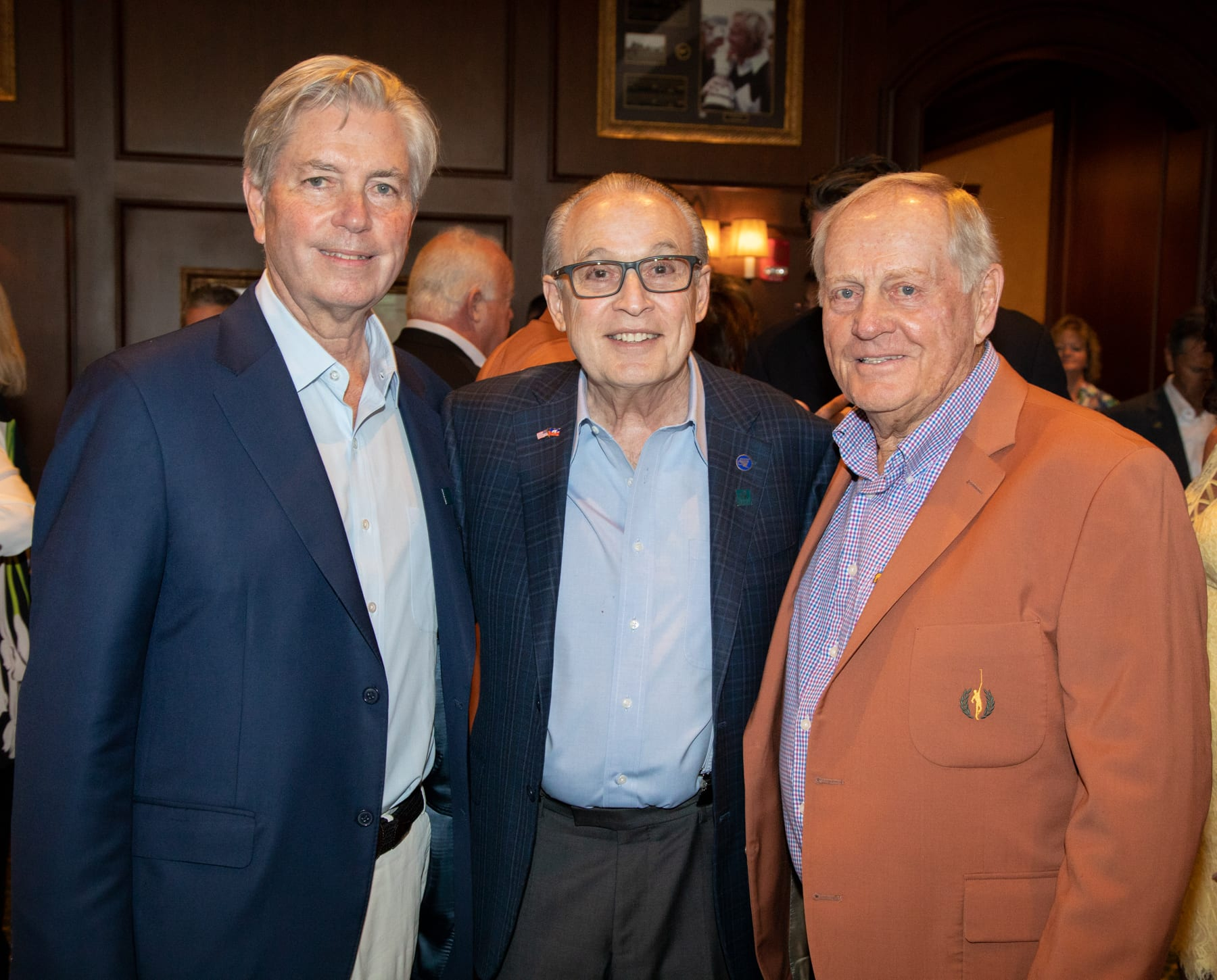 Mark Dalton and Dr. Barth Green with Jack Nicklaus