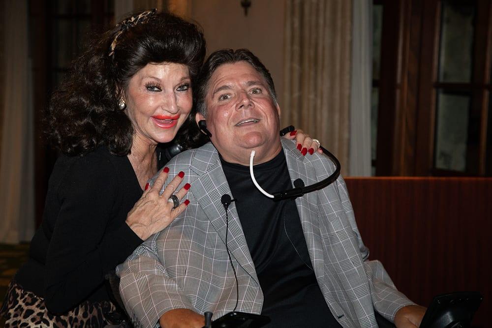 Christine Lynn with Marc Buoniconti