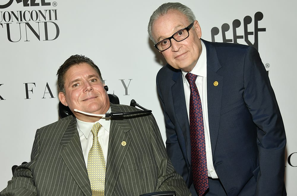 Marc Buoniconti with Dr. Barth A. Green