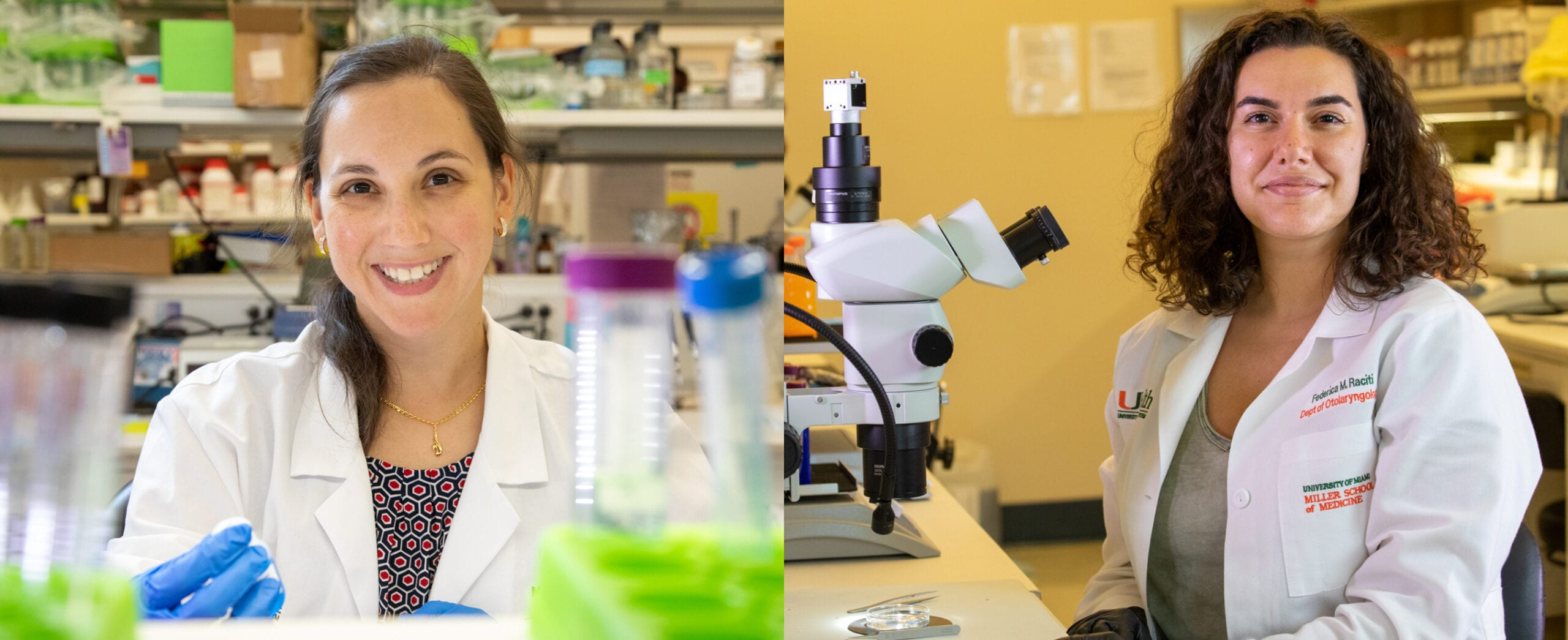 Miami Project Has Two NIH Outstanding Scholars in Neuroscience Awardees