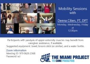Mobility Session with Dr. Deena Cilien, PT, DPT