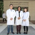 Dr. Ghosh's Past Lab Members, Dr. Jinyoung Lee, PhD, Thomas Strong, BS and Ashley Burke, BS