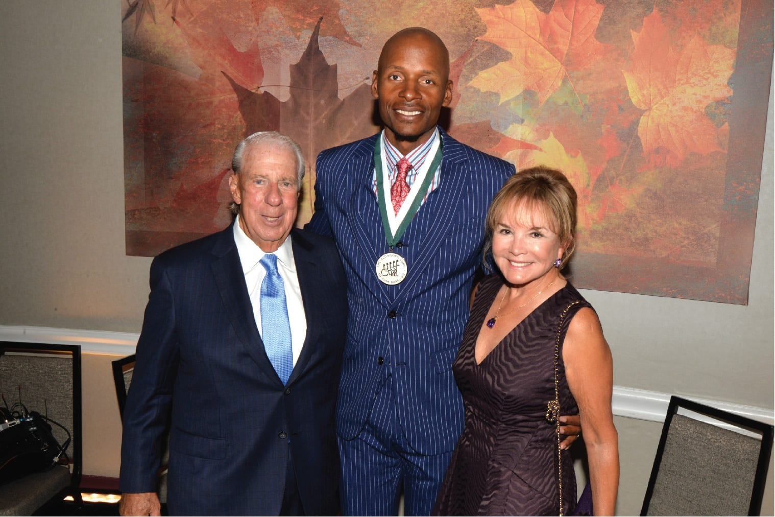 Paul and Swanee DiMare with Ray Allen