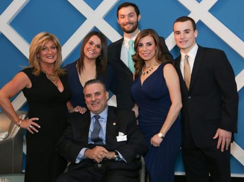 Philadelphia Chapter Directors Dan & Caren Jones with their family
