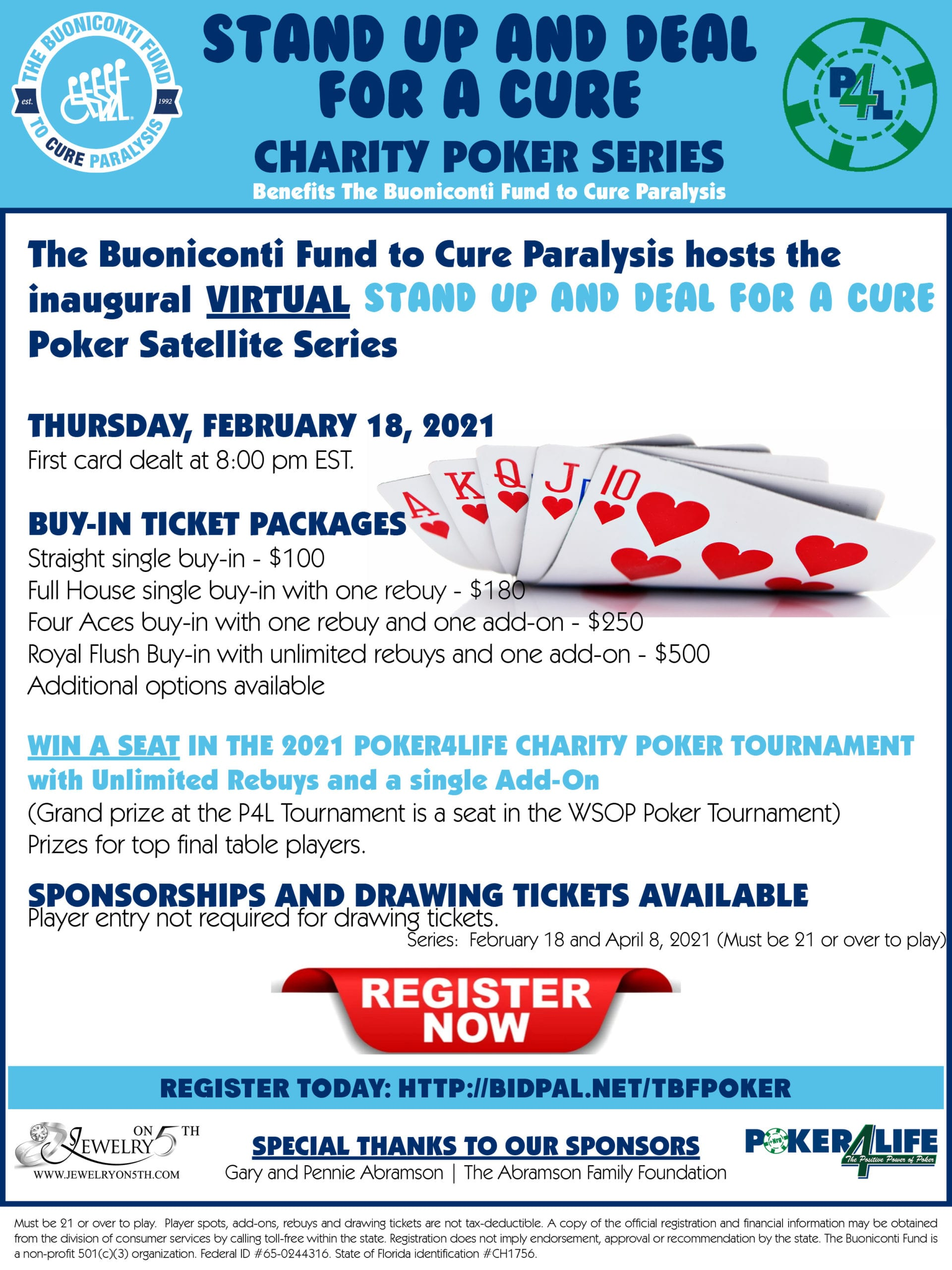 Virtual Poker Series February 18