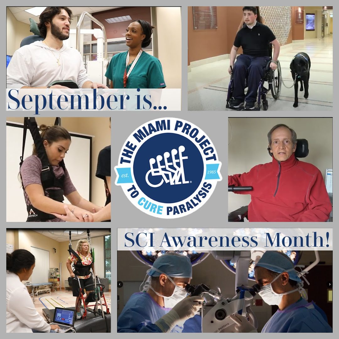 September is SCI Awareness Month