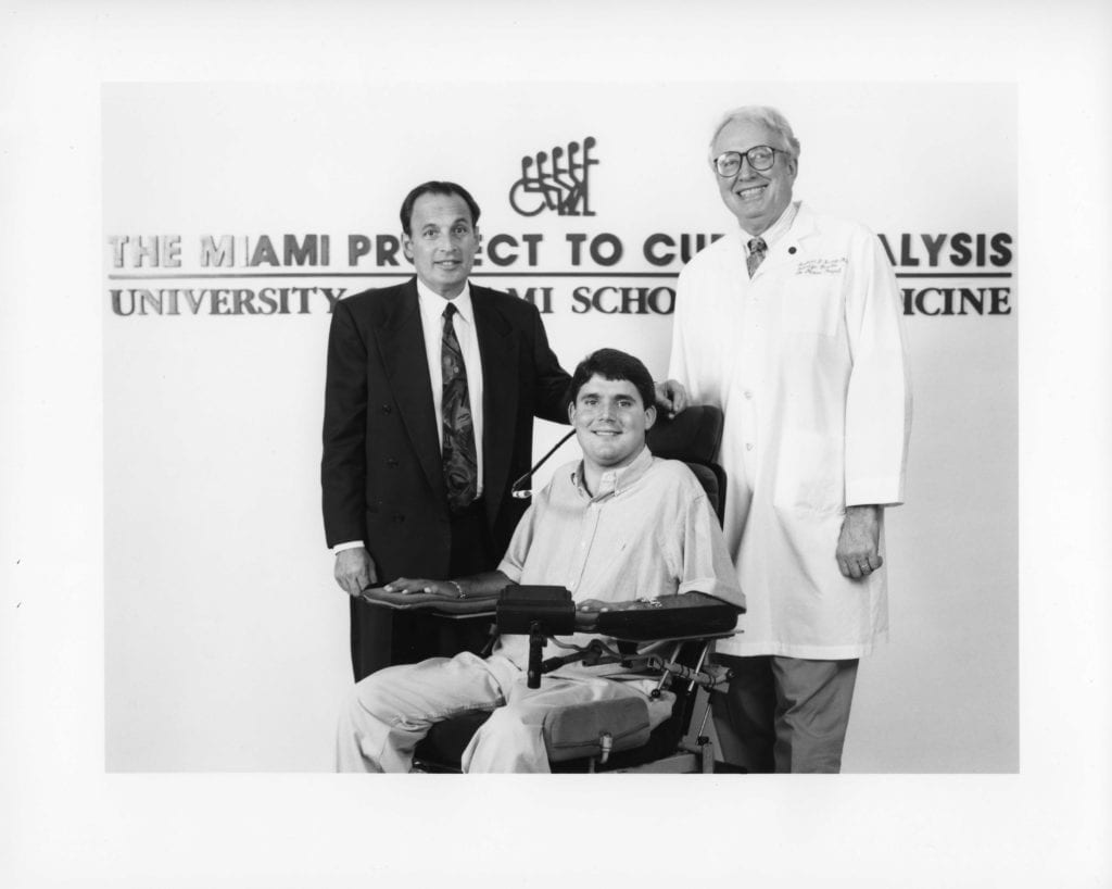 History of Drs. Barth A. Green and Richard P. Bunge with Marc Buoniconti