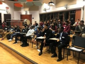 High school students compete in the 2019 Brain Bee