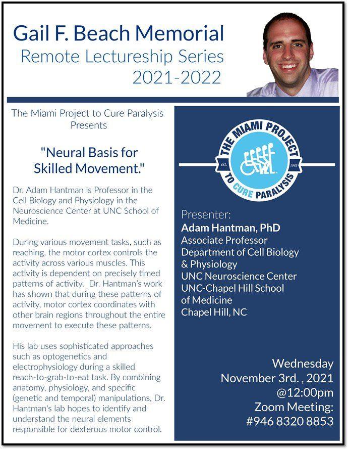 Adam Hantman, Ph.D.