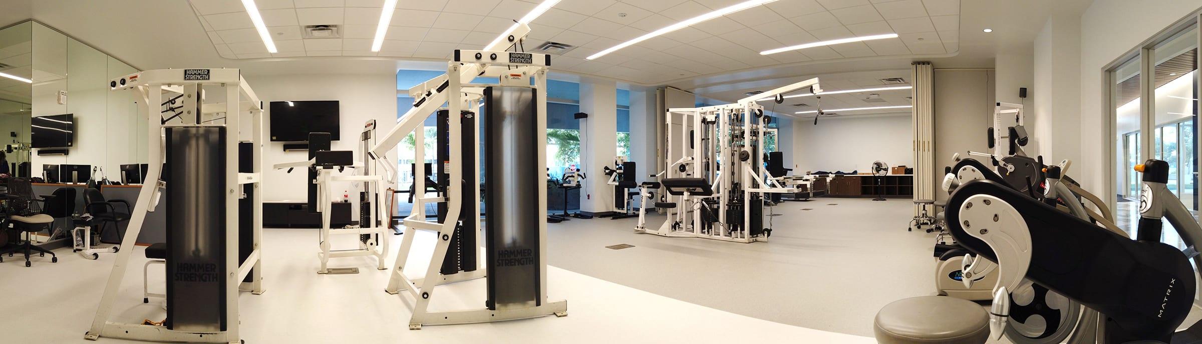 Christine E. Lynn Rehabilitation Center Gym